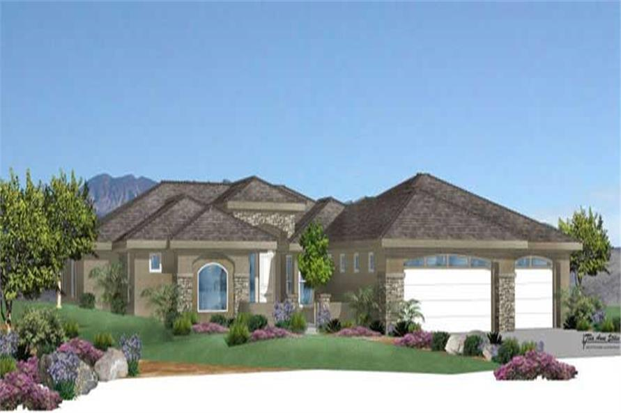 Main image for house plan # 19358