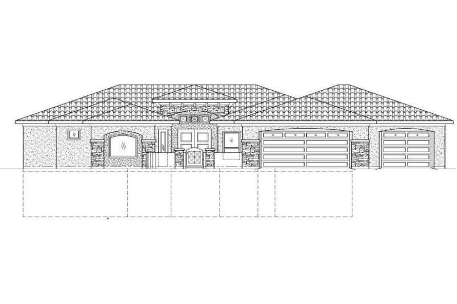 Main image for house plan # 19377