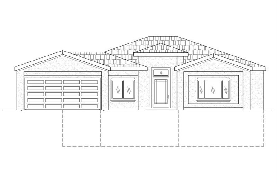 Main image for house plan # 19324