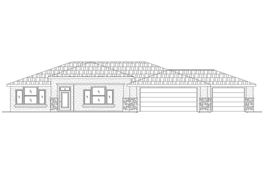 Main image for house plan # 19318