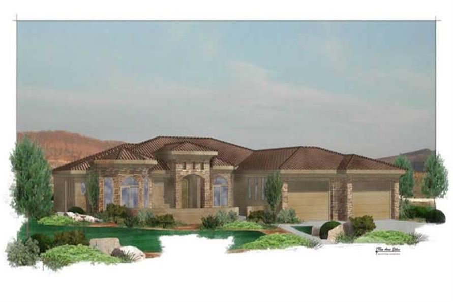 Main image for house plan #125-1019