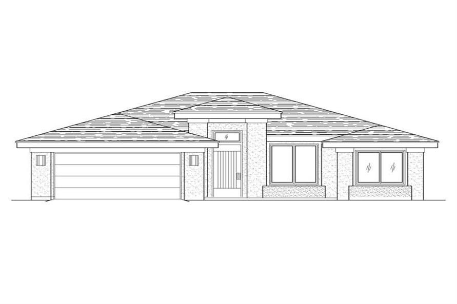 Main image for house plan # 19234