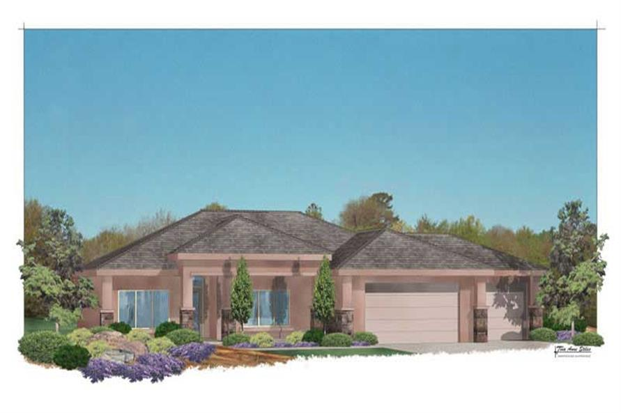 Main image for house plan # 19305