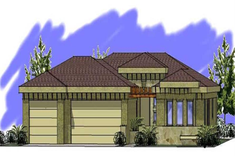 Main image for house plan # 19306