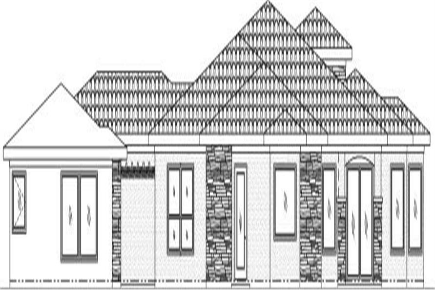 House Plan #125-1025