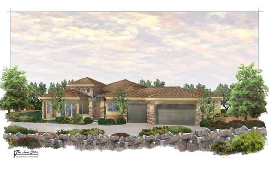 Main image for house plan # 19382