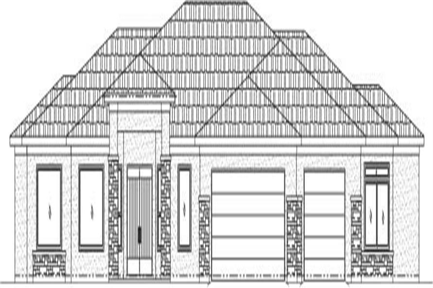 Main image for house plan # 19310