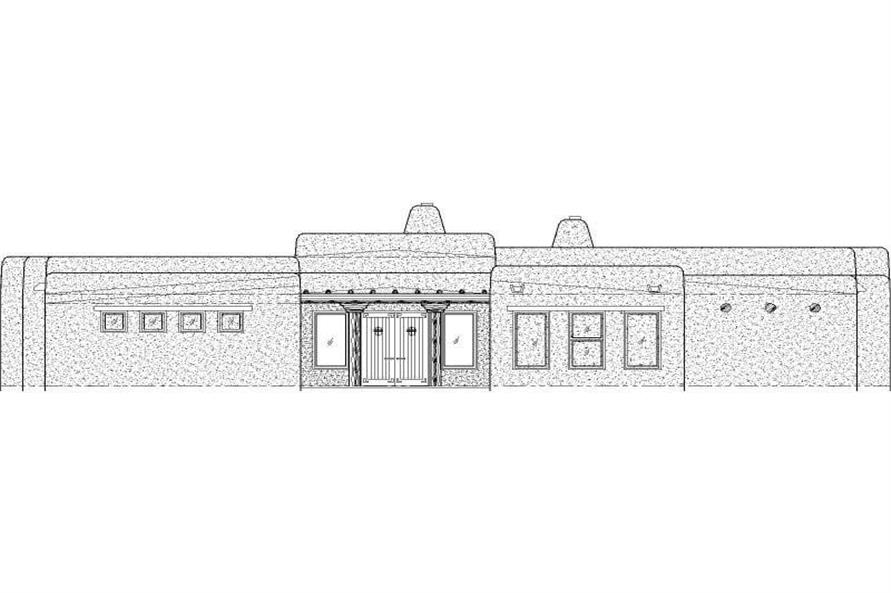 Main image for house plan # 19368