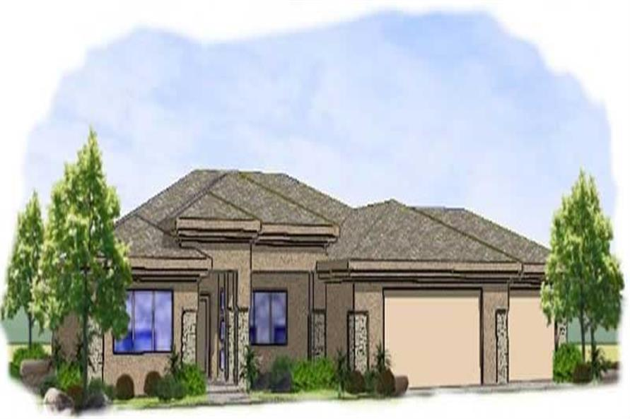 Main image for house plan # 19343