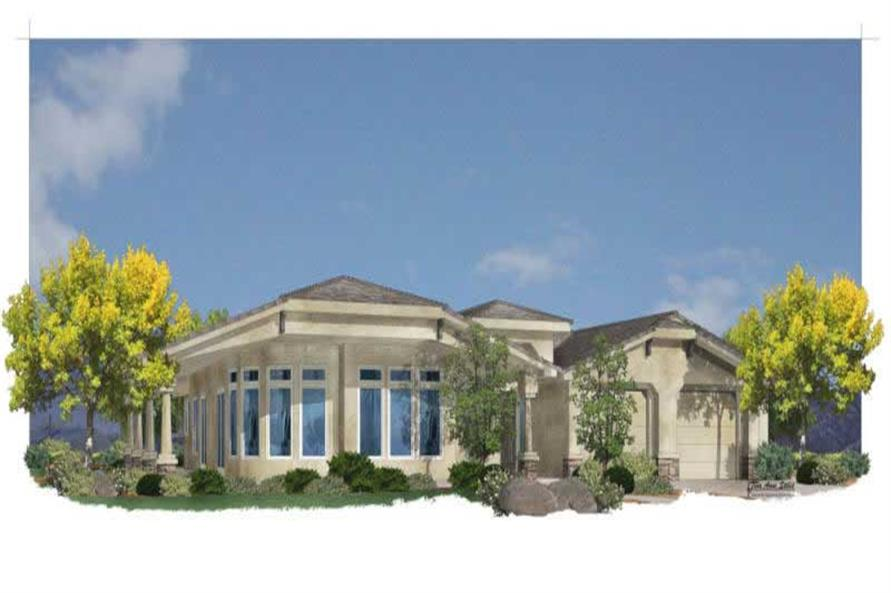 Main image for house plan # 19743