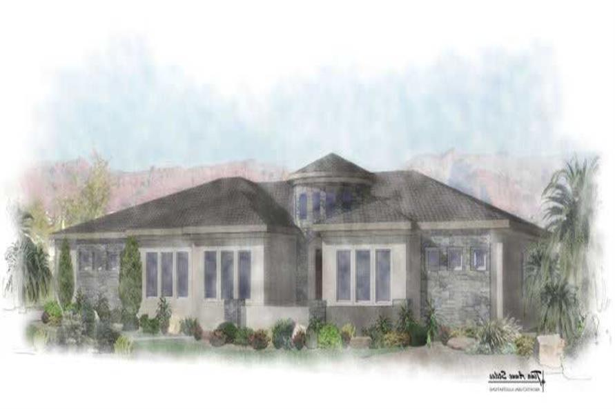 Main image for house plan # 19758