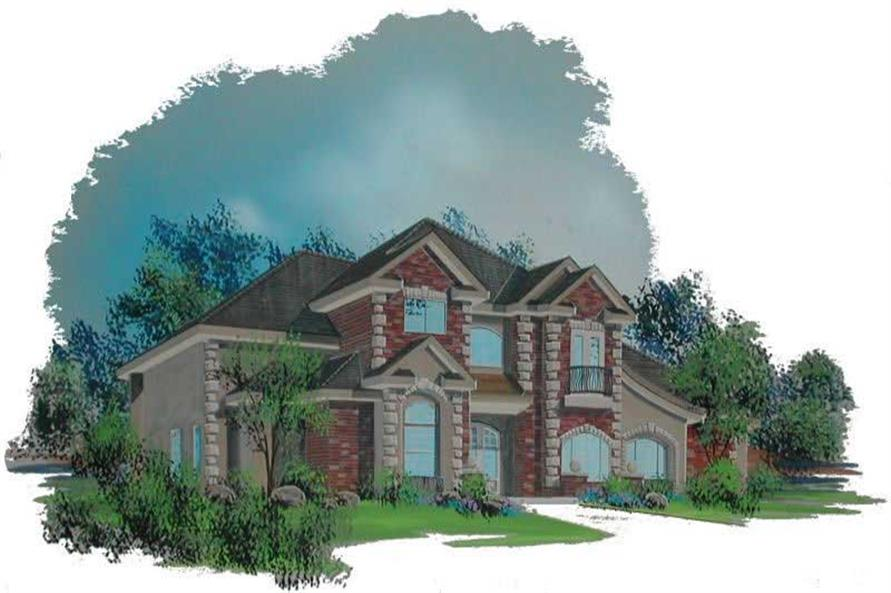 Main image for house plan # 19763