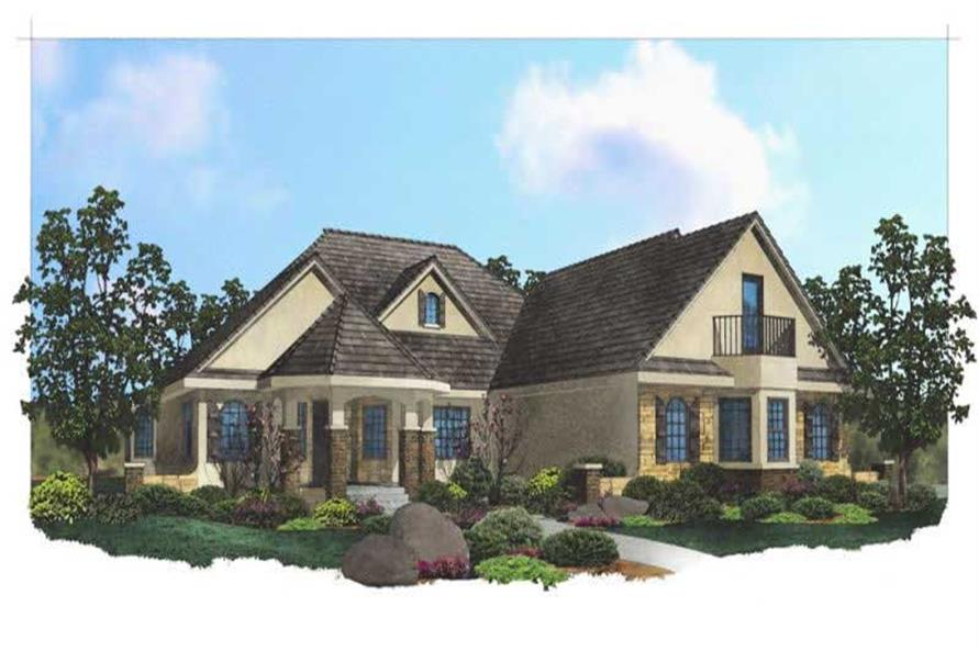 Main image for house plans # 19747