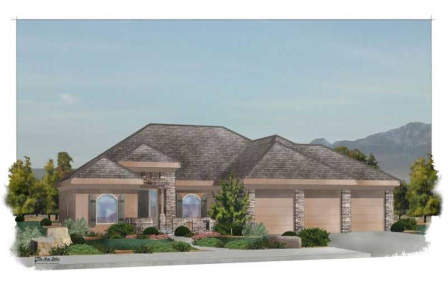 Main image for house plan # 19748