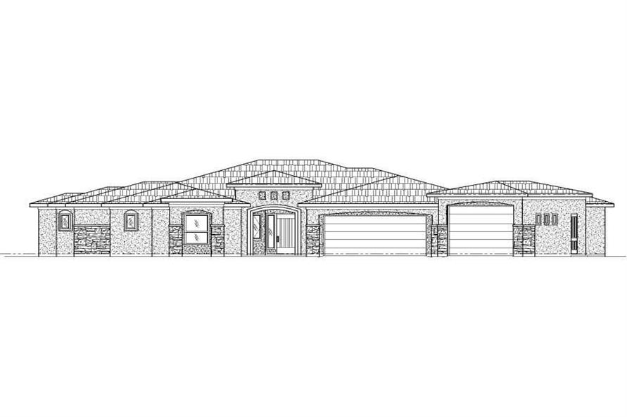 Main image for house plan # 19759