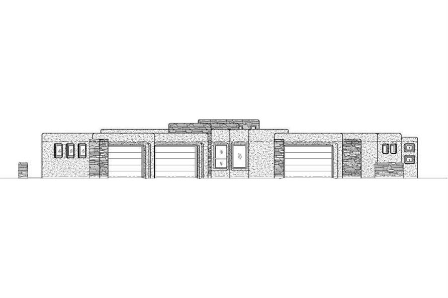 Main image for house plan # 19746