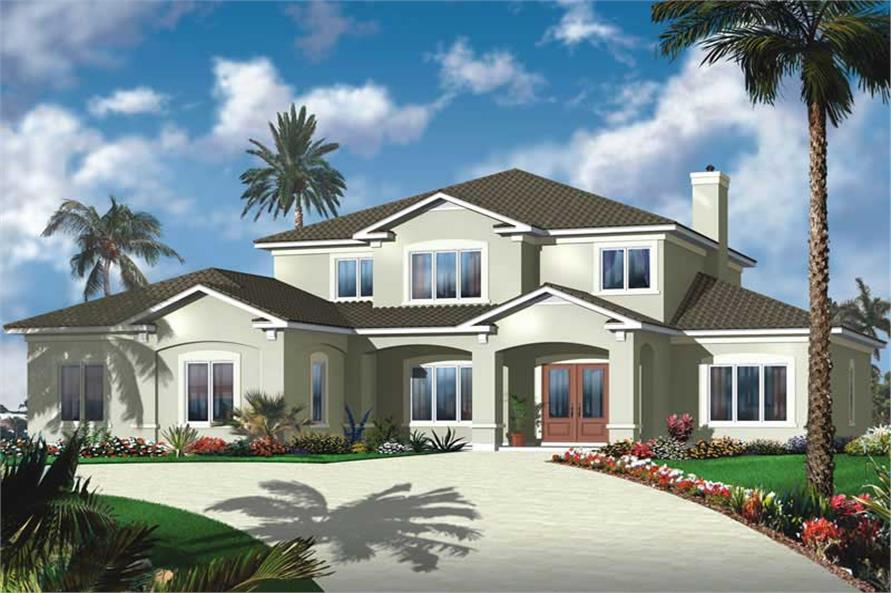 Main image for house plan # 20016