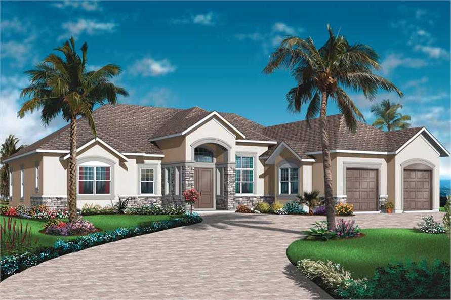 Main image for house plan # 19986