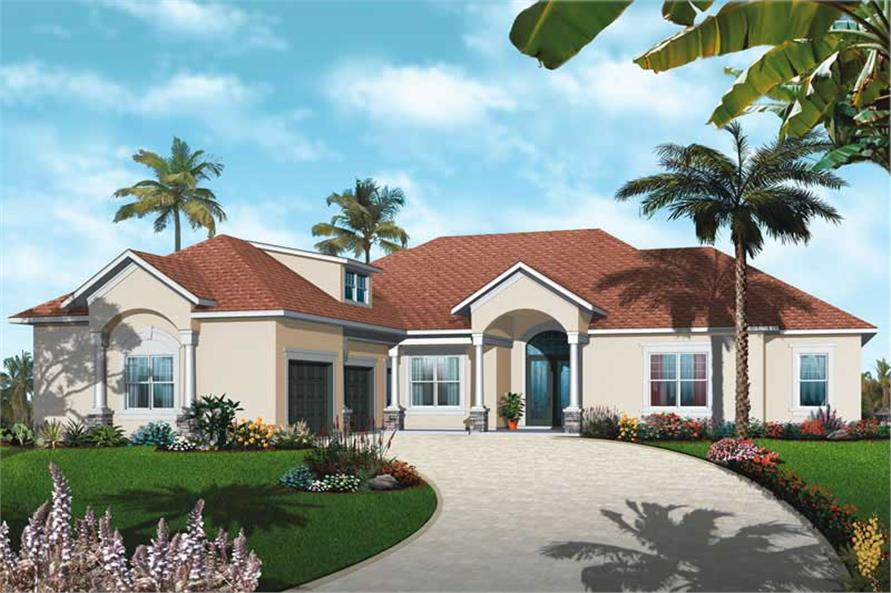 Main image for house plan # 19994
