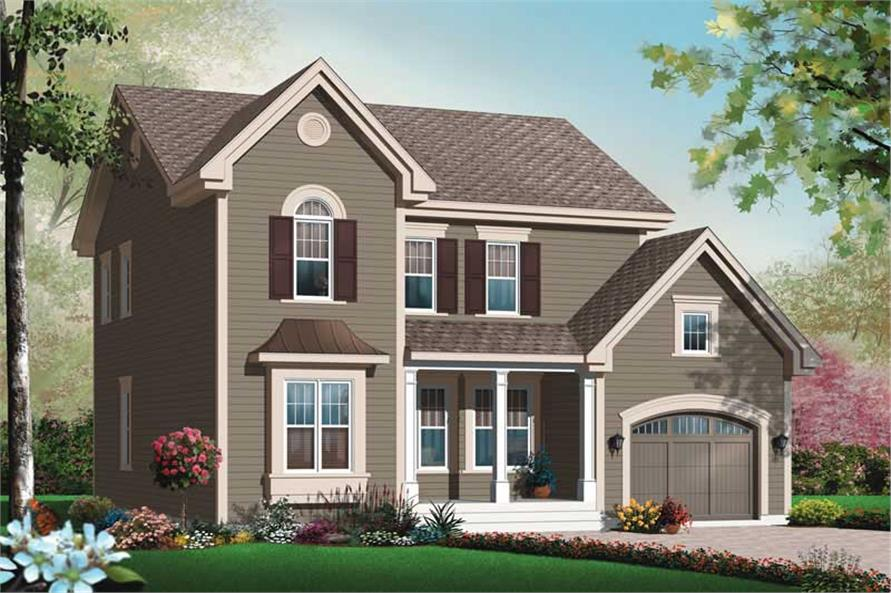 Main image for house plan # 20017