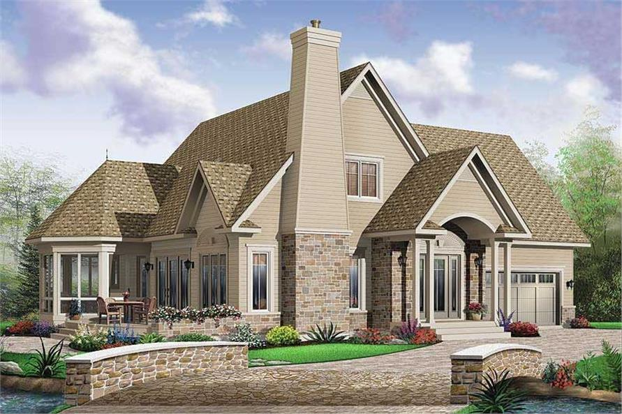 Main image for house plan # 20484