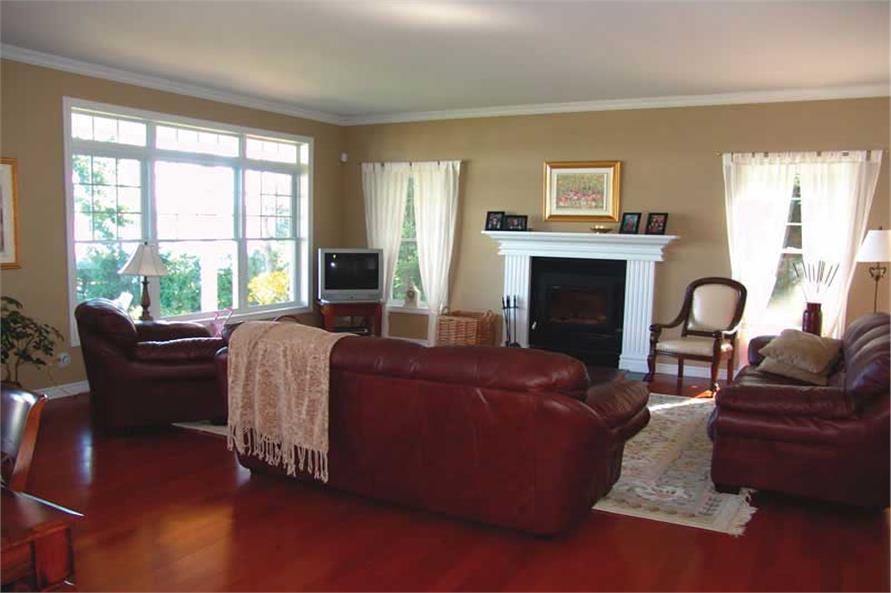 126-1020: Home Interior Photograph-Hearth Room
