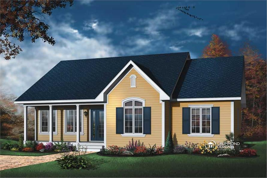 Main image for house plan # 8173
