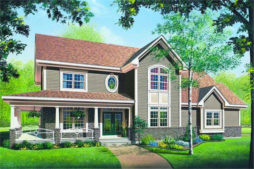 Main image for house plan # 4173