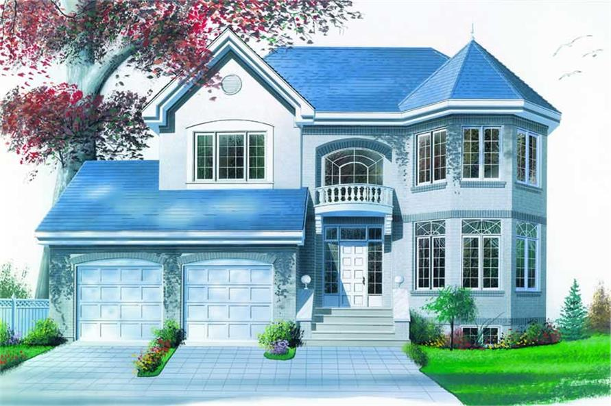 Main image for house plan # 4174