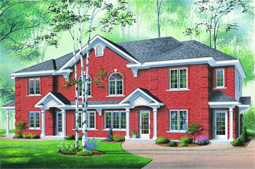 Main image for house plan # 4158