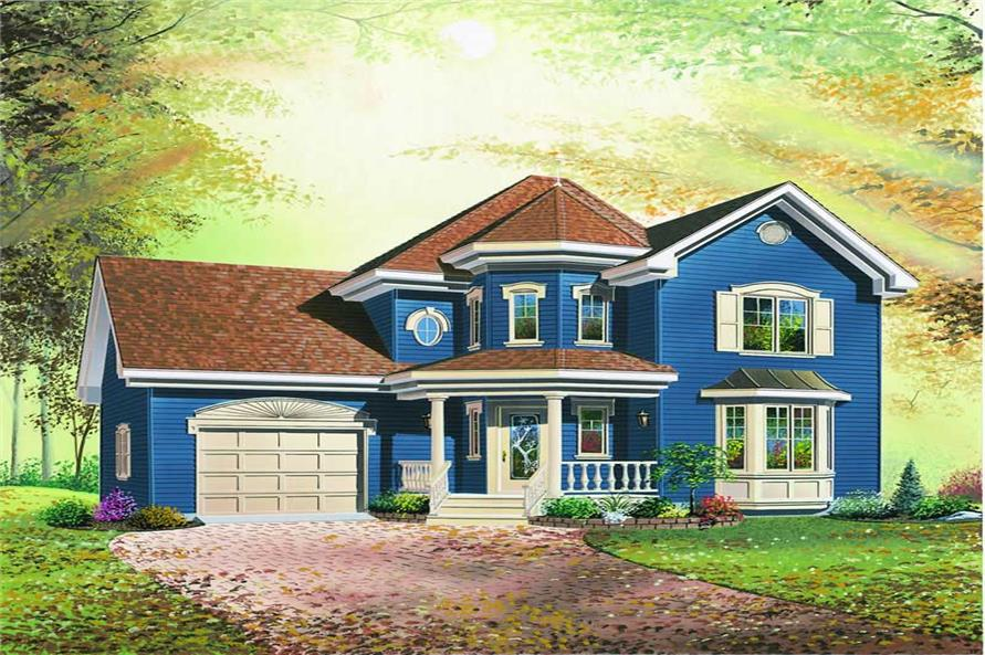 Main image for house plan # 4141