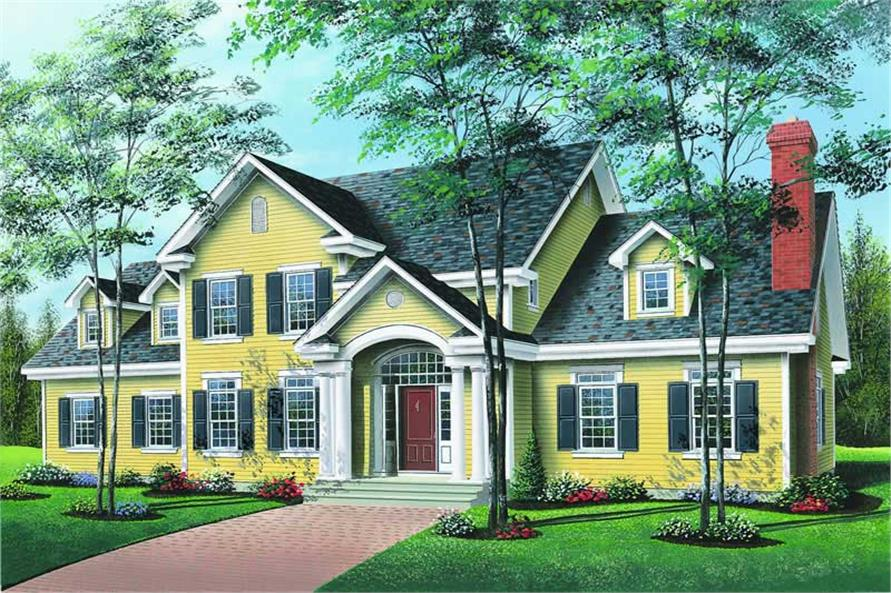 Main image for house plan # 4204