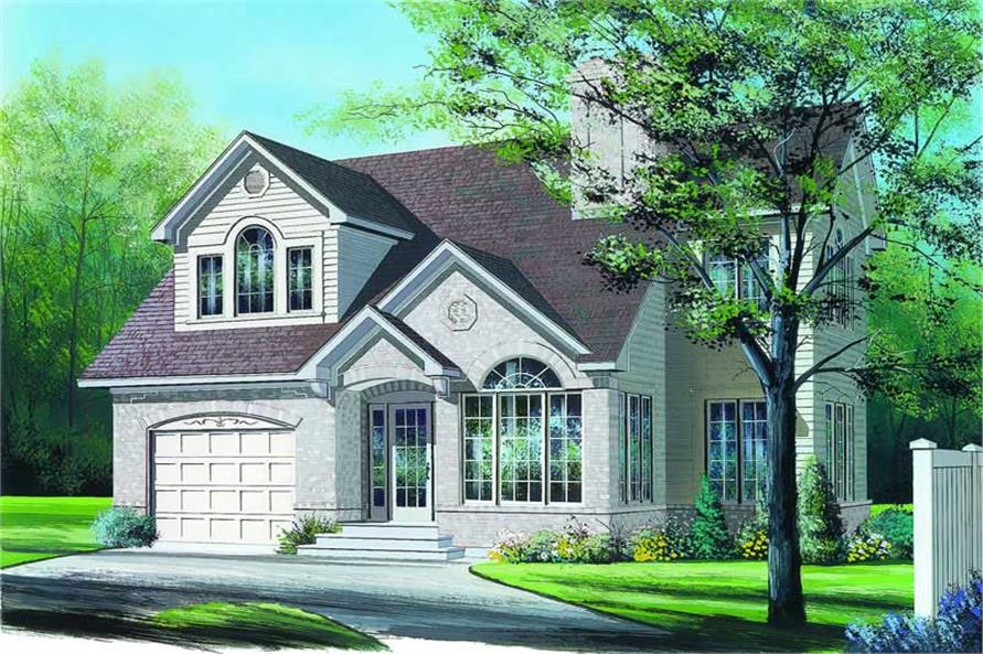 Main image for house plan # 4196