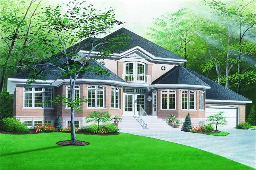 Main image for house plan # 4162