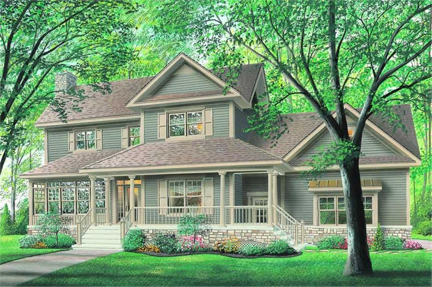 Main image for house plan # 4200