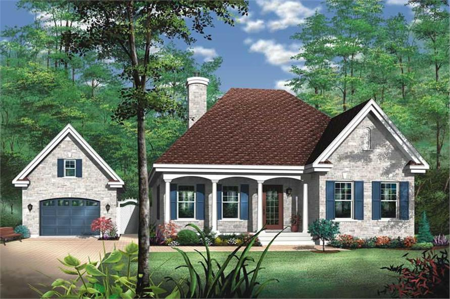 Main image for house plan # 13055