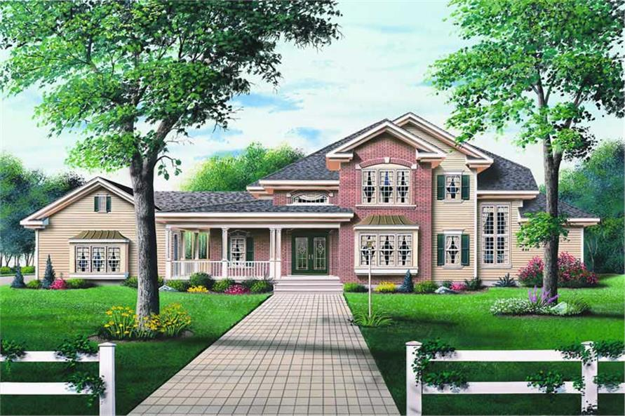 Main image for house plan # 4124