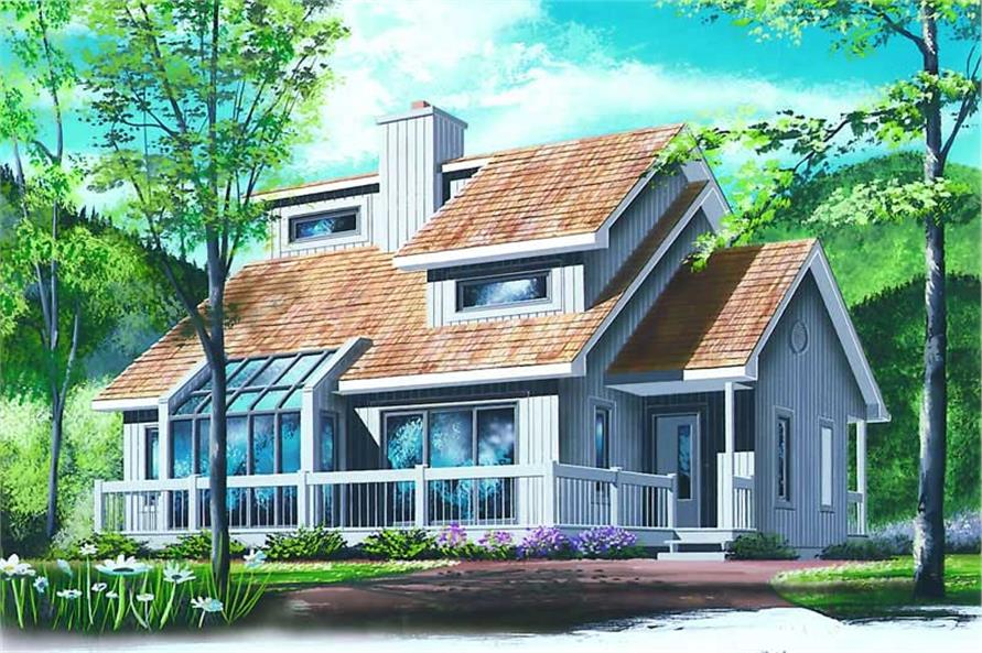 Main image for house plan # 4089