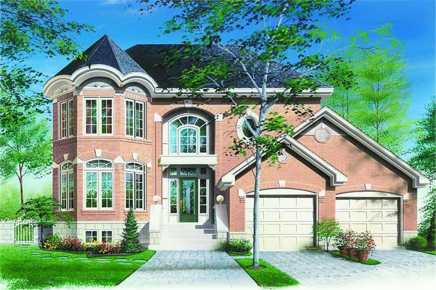 Main image for house plan # 4097