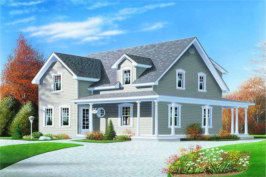 Main image for house plan # 4193