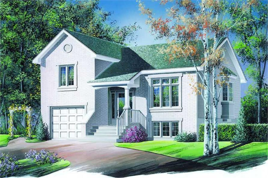 Main image for house plan # 4195