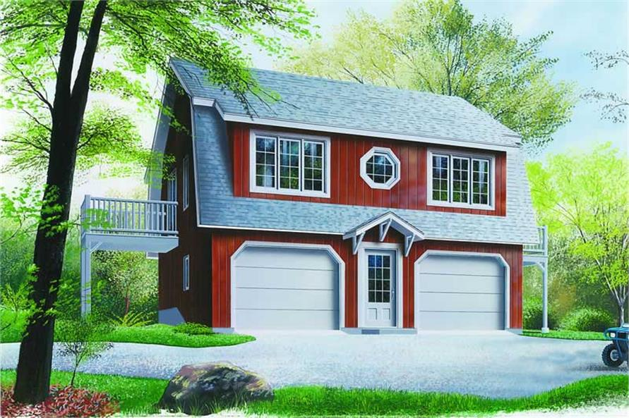 Main image for house plan # 4104