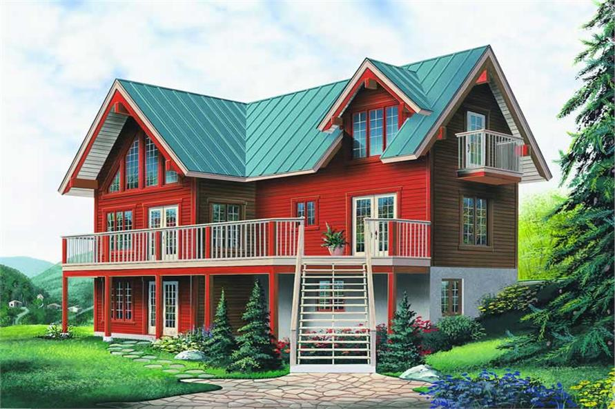 Main image for house plan # 4093