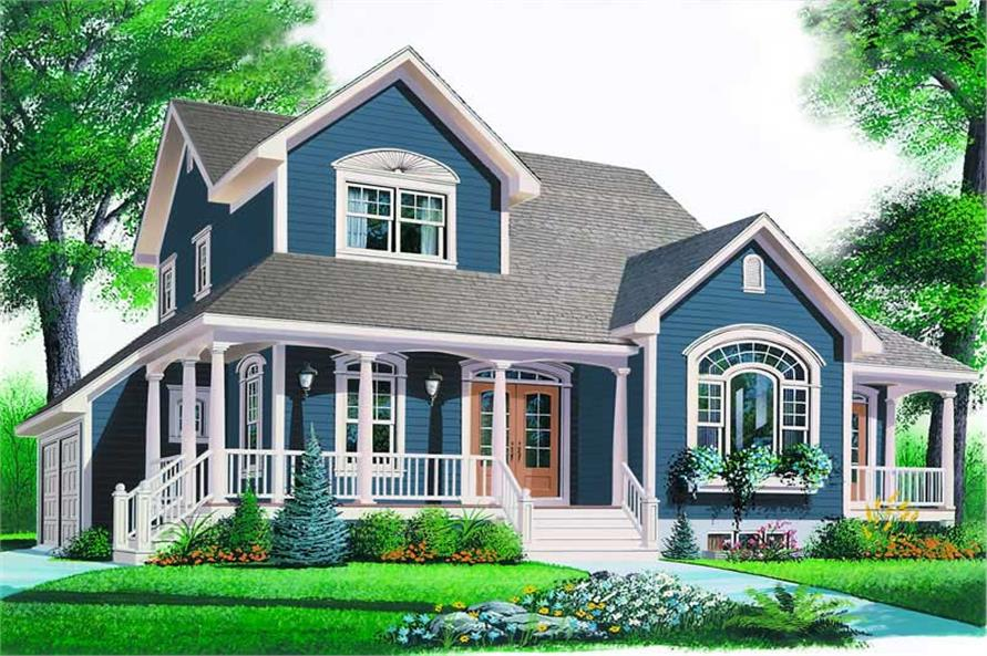 Main image for house plan # 4092