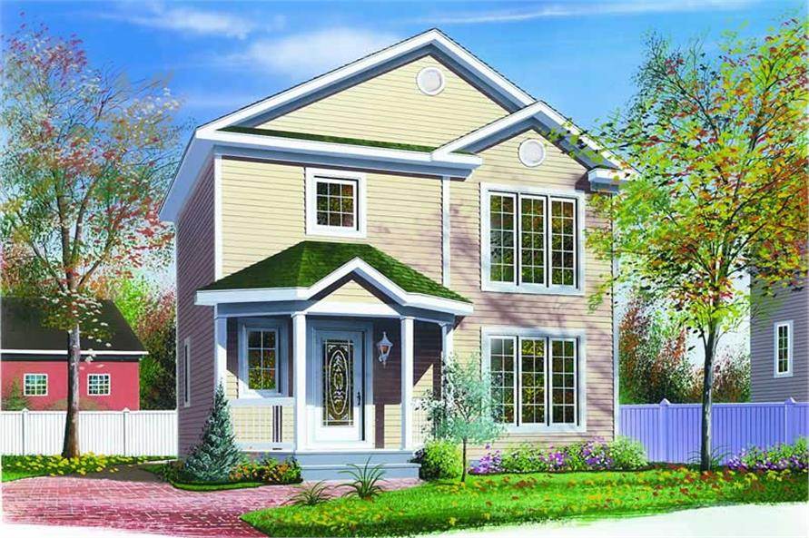 Main image for house plan # 4105