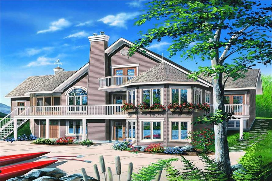 Main image for house plan # 4151