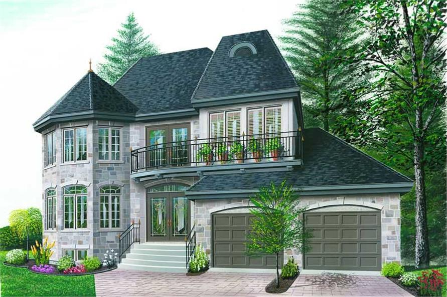 Main image for house plan # 4170