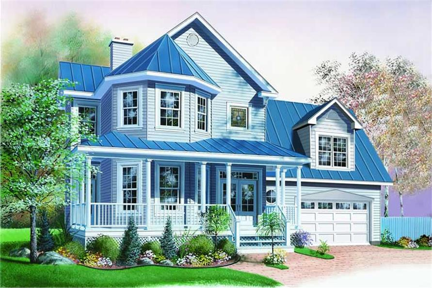 Main image for house plan # 4153