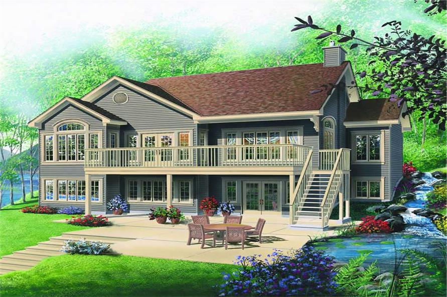 Main image for house plan # 4186
