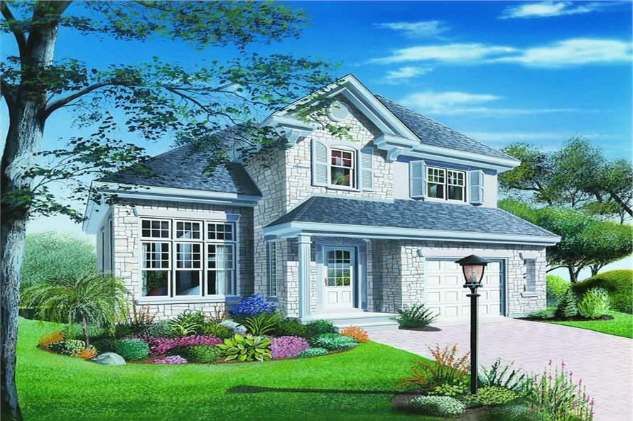 Main image for house plan # 4187